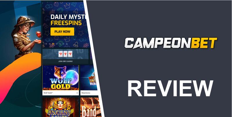 Campeon Bet Review