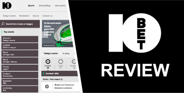 10bet review featured image betting sites uk