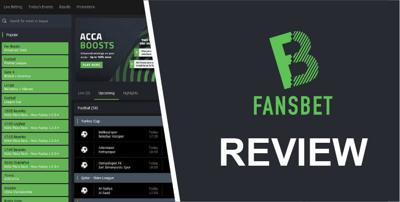 Fansbet eSports Review