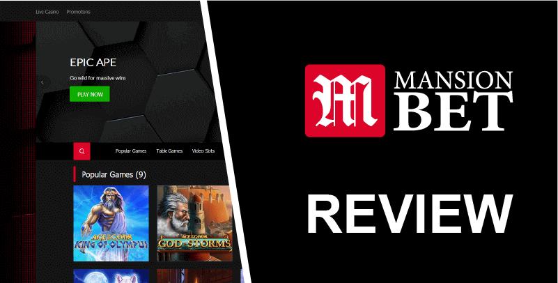 Mansionbet eSports review