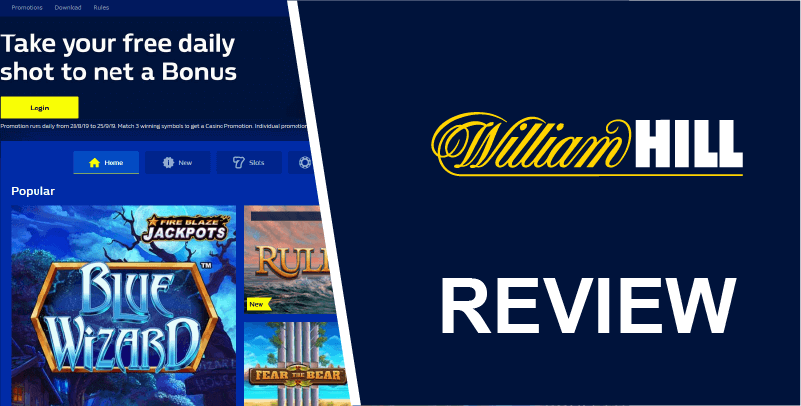 William Hill YouTube thumbnail