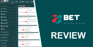 22Bet Review - Featured image