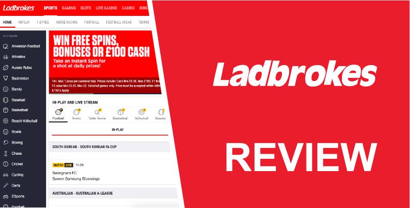 Ladbrokes PayPal Review